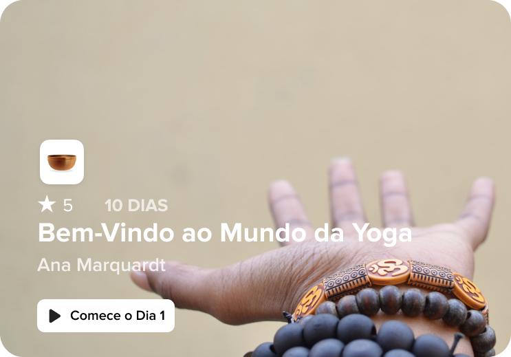 curso Bem-Vindo ao Mundo da Yoga